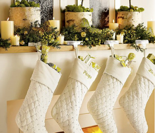 1350416470 Its time to start thinking about where youll hang your stockings this year!