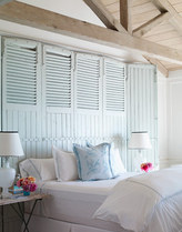 Repurpose Doors into Headboards